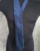 Granatowy krawat Next...