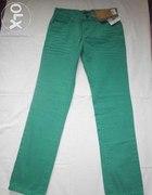 Nowe męskie zielone spodnie...