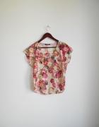 bluzeczka koronka kwiaty