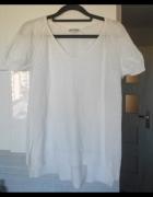 Gap biały sweter bluzeczka minimalizm oversize