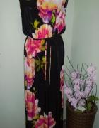 sukienka maxi kwiaty