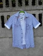 Męska Koszula XS 2 w 1 z koszulką