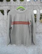 męski Sweter M wojskowa zieleń RESERVED