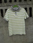 Męska Koszulka M polo w paski