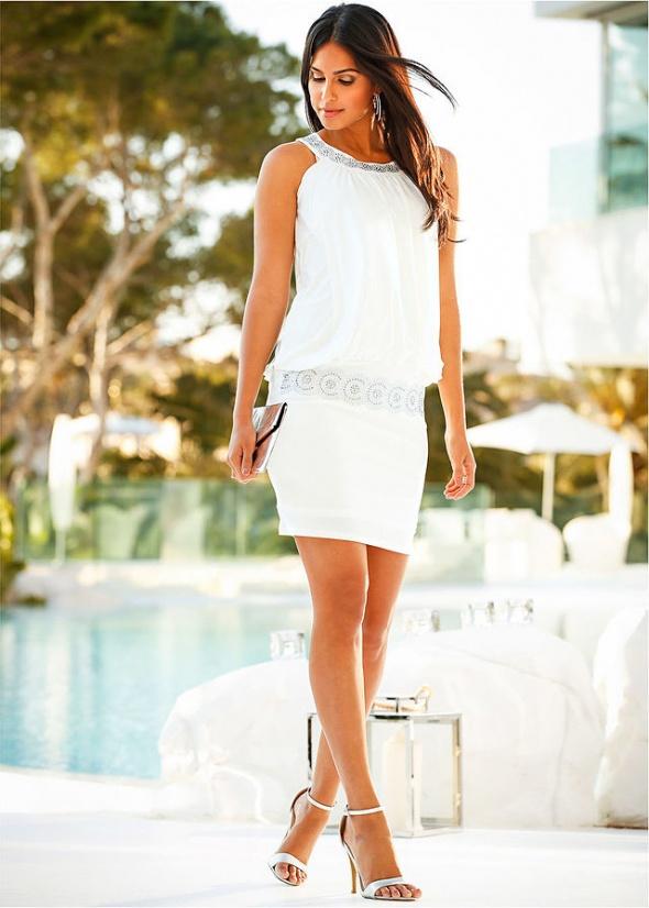 Eleganckie Piękna Biała
