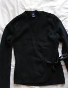 kopertowy czarny sweter 38 gap...