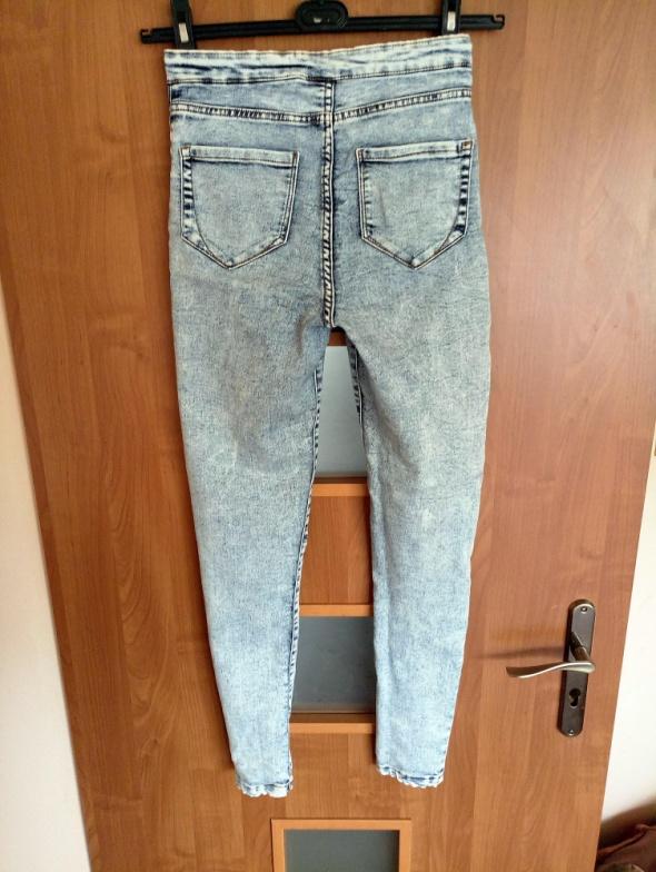 Spodnie rurki marmurki DenimCo...