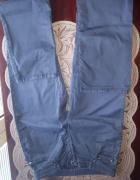 Granatowe spodnie Gant W29 L34