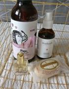 Zestaw kosmetyków nuxe loccitane mokosh yope róża migdał
