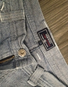 Reserved fajne niebieskie jeansy lekkie na lato