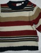Sweterek w pasy 74