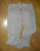 spodnie jeansowe szare z ćwiekami M L