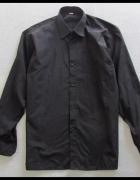Koszula męska czarna kołnierzyk 44 XXL