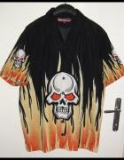 Nowa koszula D None L XL czaszka jak HD