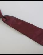 Krawat bordowy dla dziecka