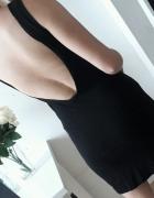 American apparel sukienka mała czarna odkryte plecy S