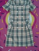 sukienka w stylu Burberry...