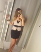 Nowa elegancka sukienka wieczorowa