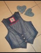 Kamizelka damska jeans rozm 40 L