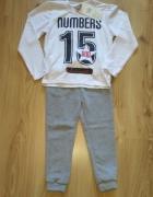 bluzka z długim rękawem i spodnie dresowe nowe