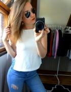 Bluzka biała Bik Bok
