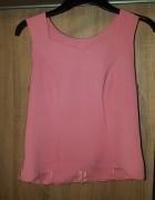 Pudrowy róż elegancka bluzeczka 40 L