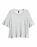 Bluzeczka falbanki H&M 36 S