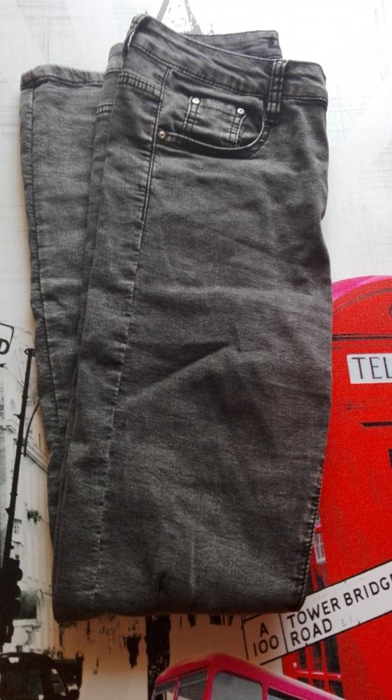 Spodnie Spodnie ciemne marmurki