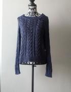 Idealny granatowy sweterek S...