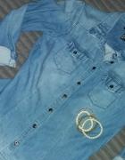 Koszula jeansowa H&M...
