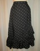 Spódnica H&M rozmiar 40 groszki falbanki nowa...