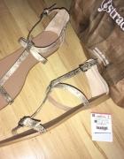 sandały sandałki klapki STRADIVARIUS 38 NOWE