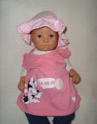 Disney różowa sukienka kr rękaw roz 0 3 msc...