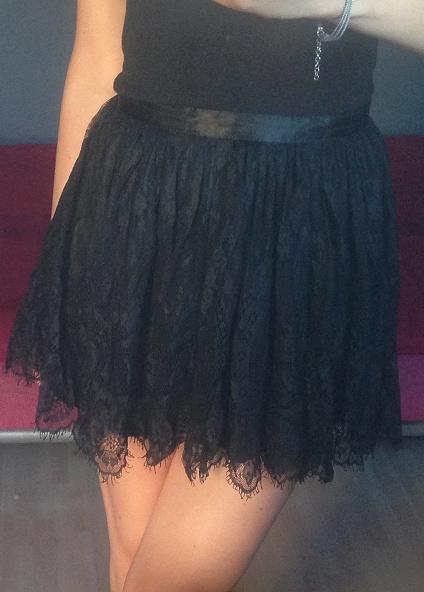 koronkowa spódniczka H&M