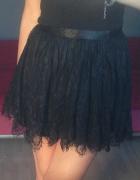 koronkowa spódniczka H&M...