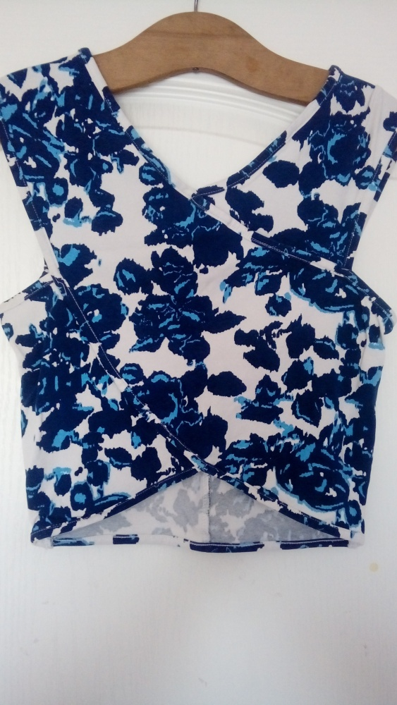 kopertowa bluzka kwiaty S...