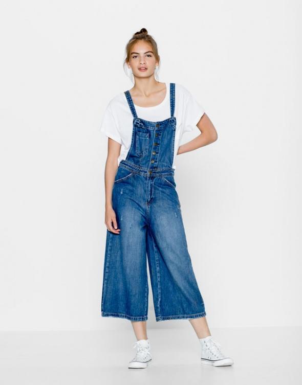Pull & Bear jeans ogrodniczki ZARA ASOS Nowe 36 S...