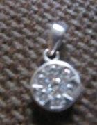 kwiatuszek koleczko srebro 925
