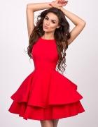 Sukienka Audrey Sukienkowo czerwona 38