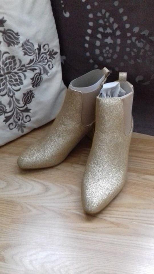 łote botki buty brokatowe buty 41