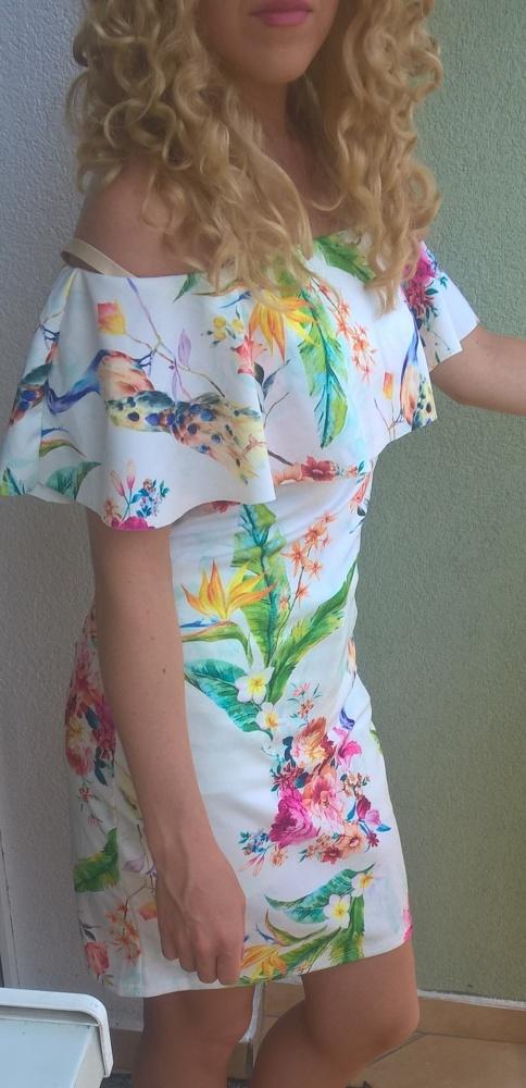 sukienka hiszpanka kwiaty