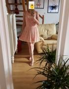Be Bebau sukienka rozkloszowana koronkowa rozmiar 14