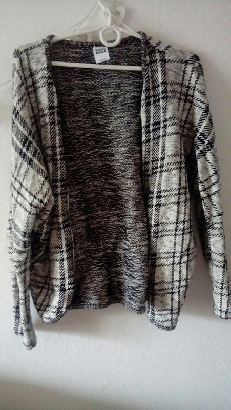 sweter kardigan w krate...