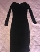 Bandażowa czarna sukienka