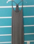 Sukienka ciemno szara Reserved...