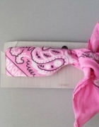 Topshop choker bandana różowa...