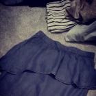 Spodnica z baskinka jeans