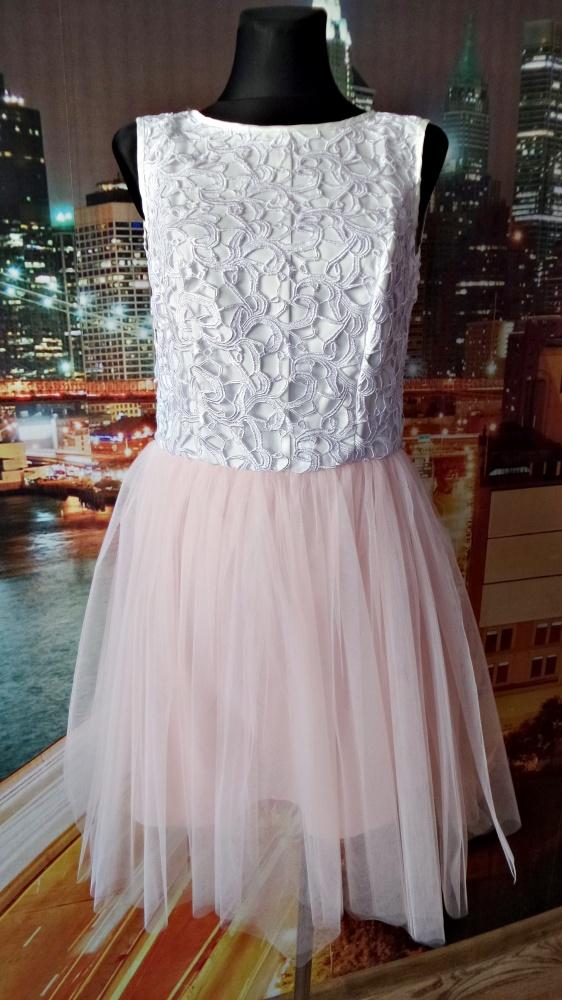 c6ee02da195b21 Suknie i sukienki sukienka koronkowa tiulowa natalia siwiec nowa 40