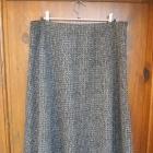 spódnica trapezowa dzianinowa