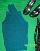 ORSAY morska zieleń golfik